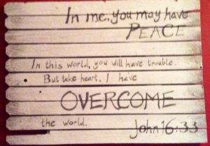 John 16;33