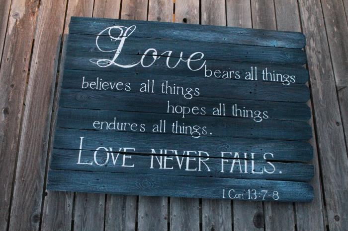 1 Cor. 13:7-8