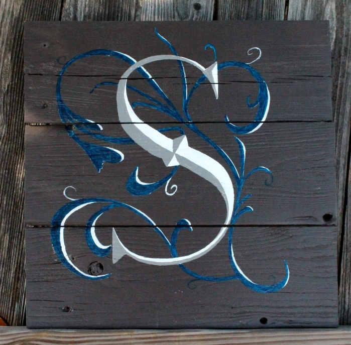 Initial Fence art