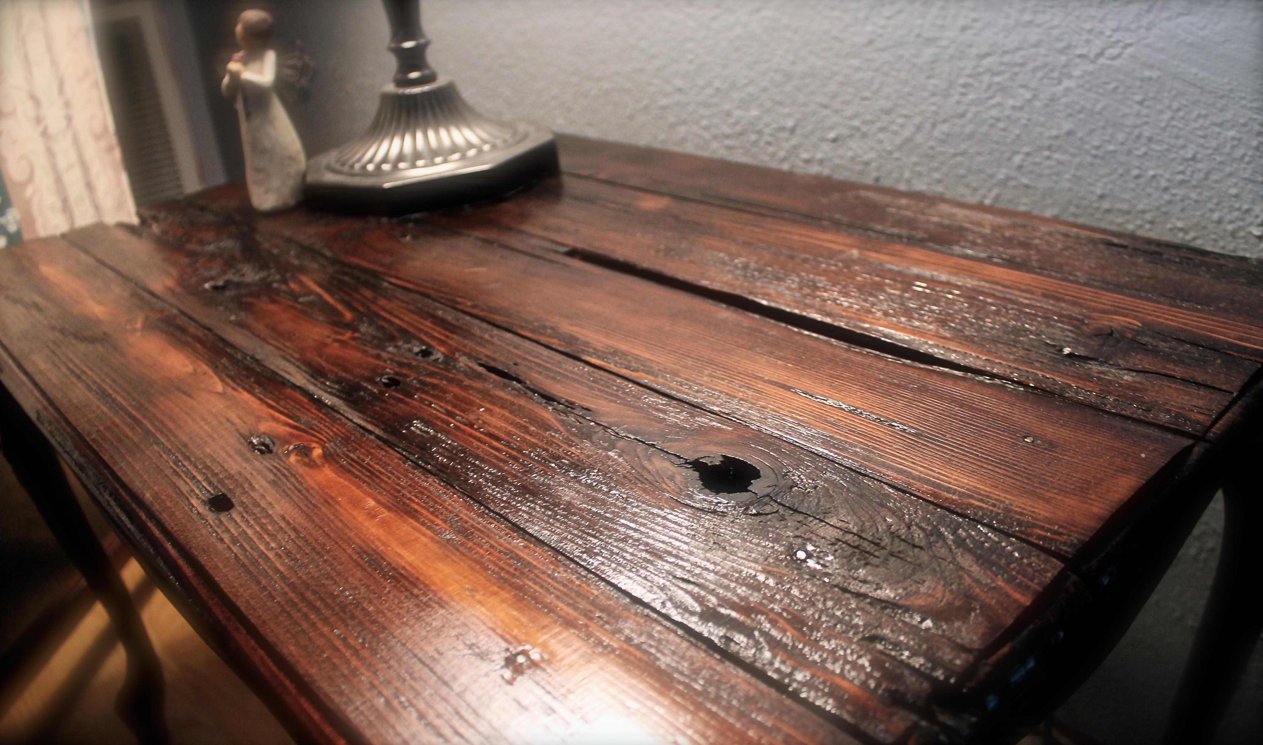 Great Refurbished Rustic Table