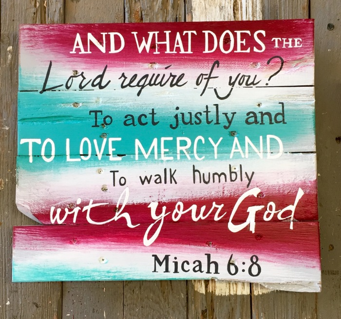 Scripture Fence Art