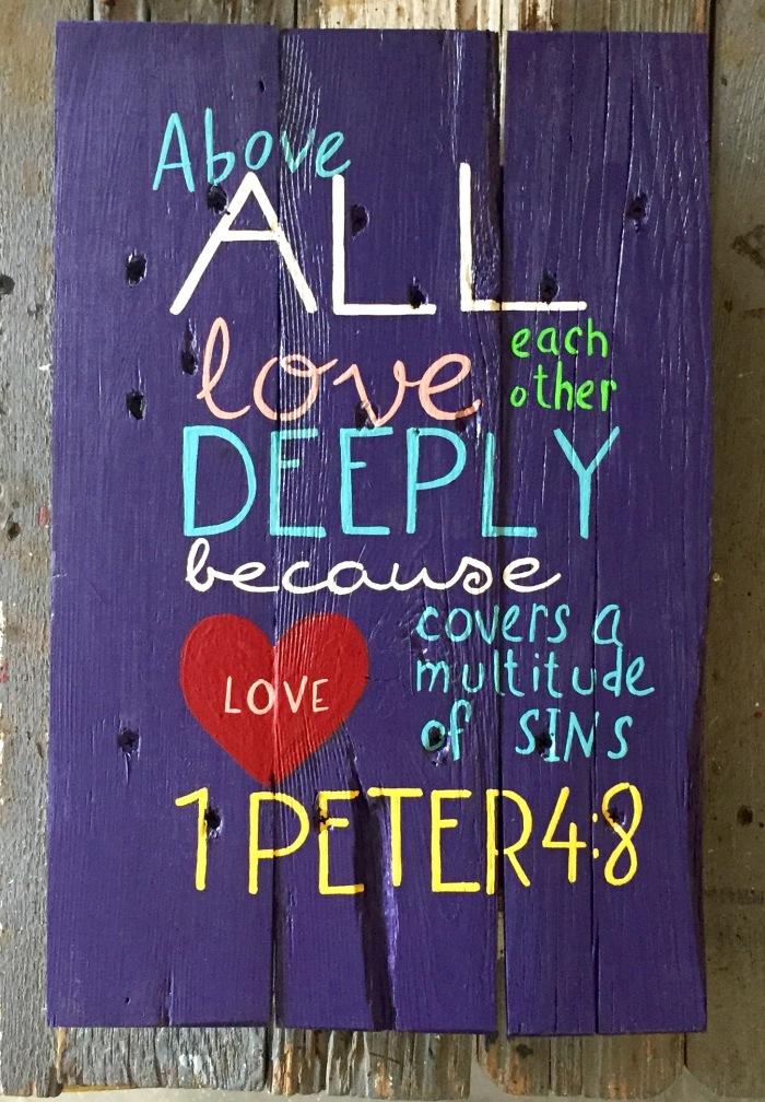 1peter 4:8